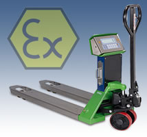 TPWX Pallet Truck Scale North West England